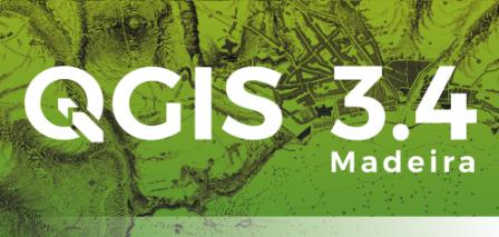 QGIS 3.4 Splash